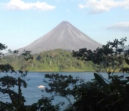 Volcán Arenal.
