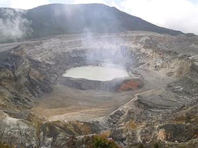 Volcán Poás.