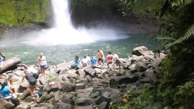 Catarata Río Celeste.