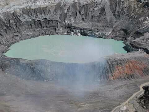 Cráter Poás.