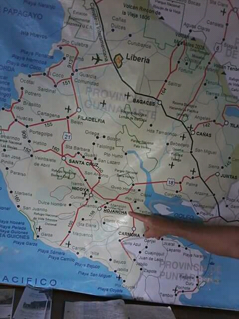 Dirección en el mapa