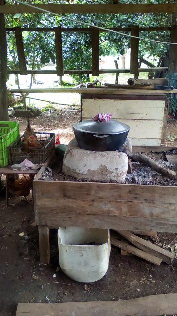 Cocina a la Leña